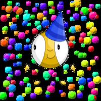 Pixelated Bovely Birthday by PyrgusM