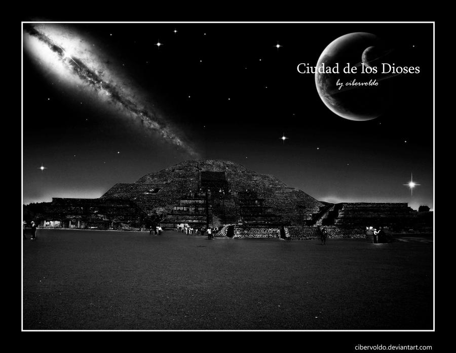 Ciudad de los Dioses by cibervoldo