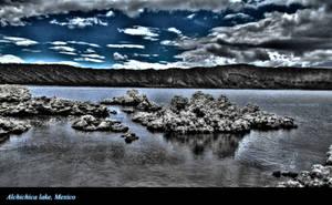 Alchichica lake, Mexico by cibervoldo