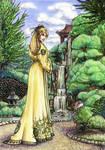 The Garden Walk-Color