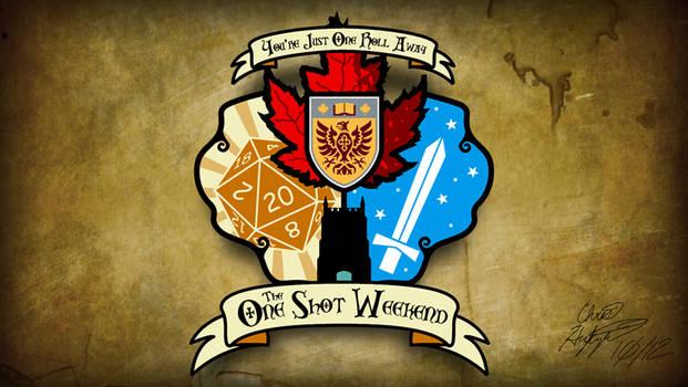 The One Shot Weekend Logo