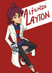 Professor Alfendi Layton by reiji2307
