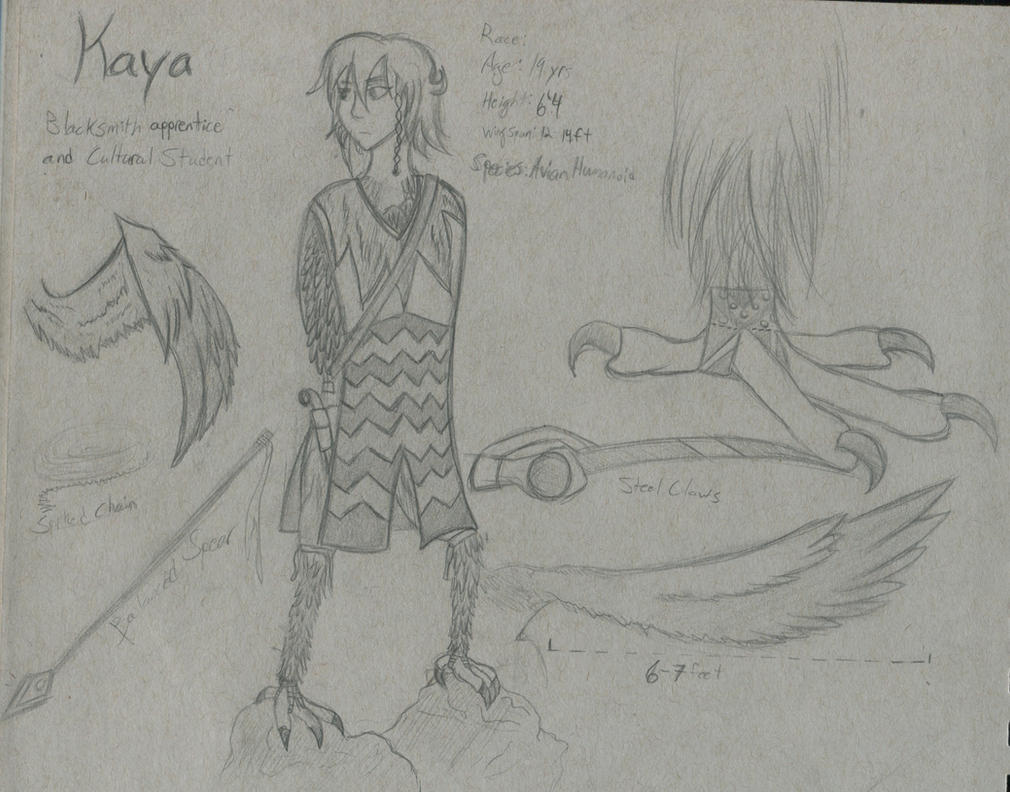 Kaya Sheet 1 by Tai-Korczak