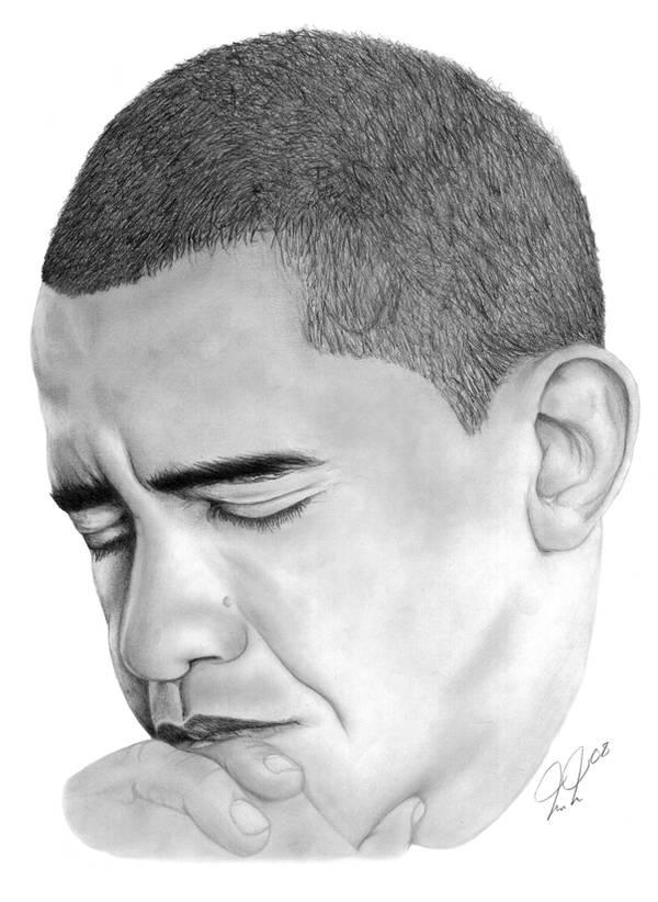 President Barack Obama by meh31488