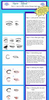 Tutorial: How to draw eyes by nightmaresky