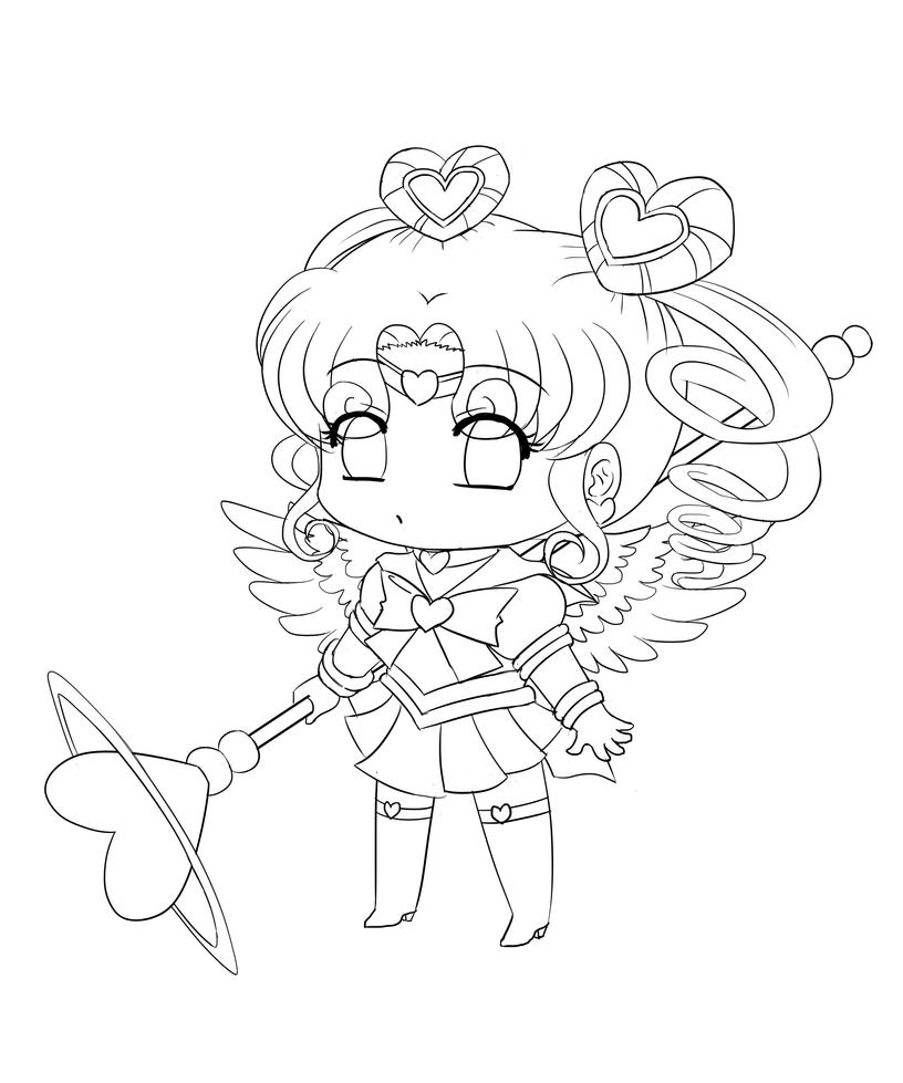 chibi disney characters coloring pages - photo#27