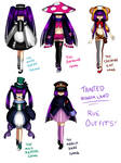 TW: Rue outfits