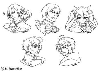 Seraph of the End - Probably WIP. by Pie-tan