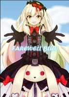 Mayu - farewell blue fan art by SylphineSnowphire