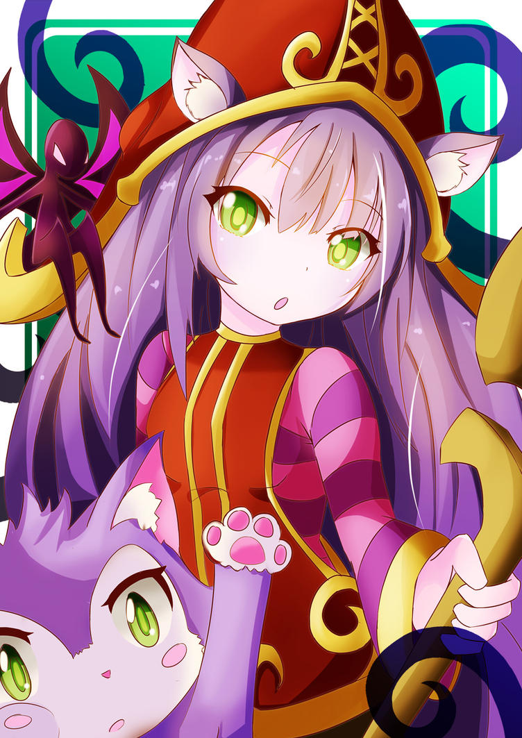 Lulu , League of Legends by SylphineSnowphire