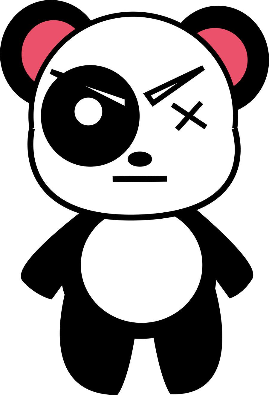 BATSU PANDA by shidozaki