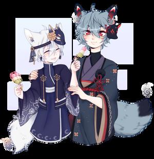 Yuki and Natsume