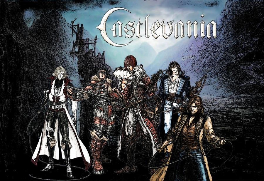 Castlevania Belmonts Clan By Leosair