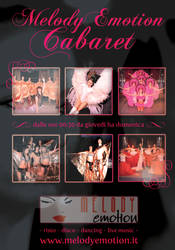 Melody Emotion Cabaret flyer by emosul