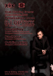 Dj Optick at Renaissance Room by emosul