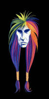 rainbow hair dude by omppu
