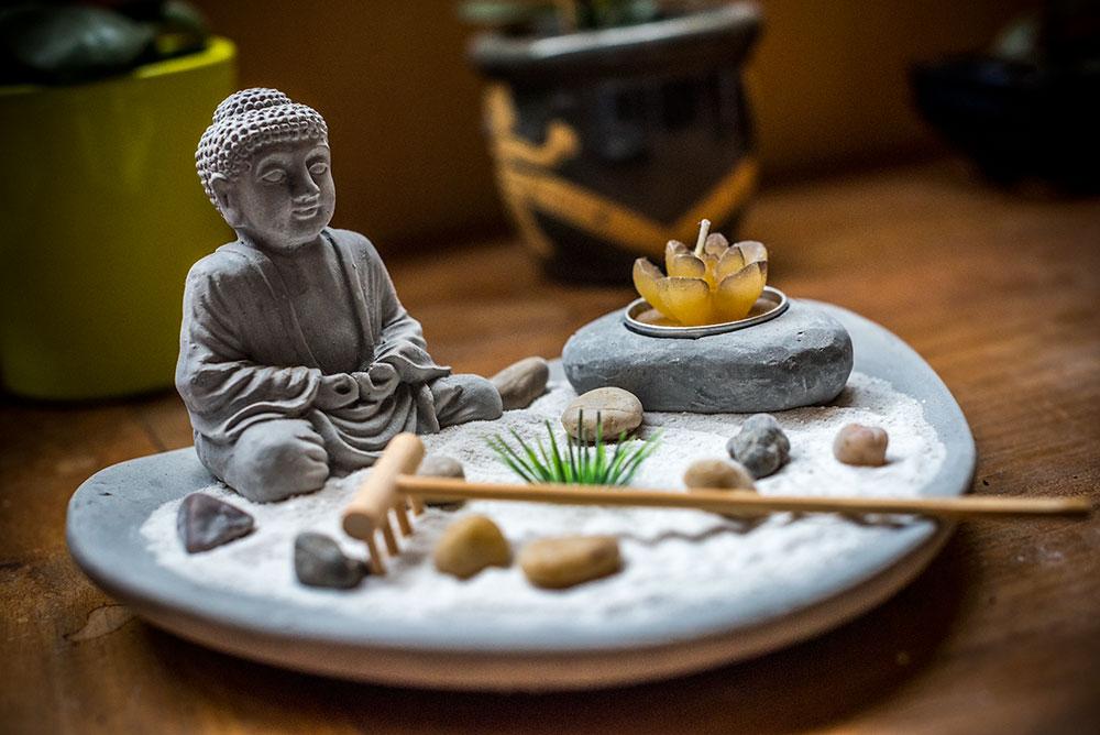 Buddha Zen Garden by Anantaphoto