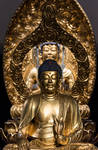 Golden Buddha by Anantaphoto