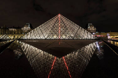 Louvre Lightning Pyramid