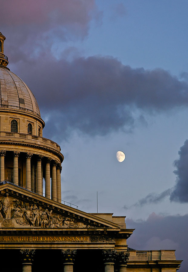 Pantheon Moon by Anantaphoto