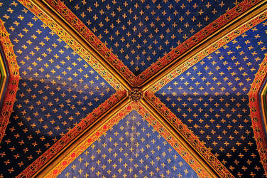 Roof of the Holy Chapel by Anantaphoto