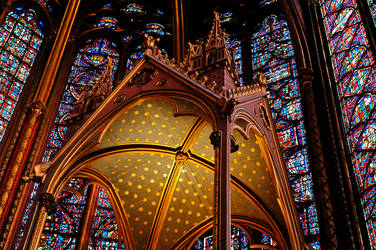 Interior of the Holy Chapel by Anantaphoto