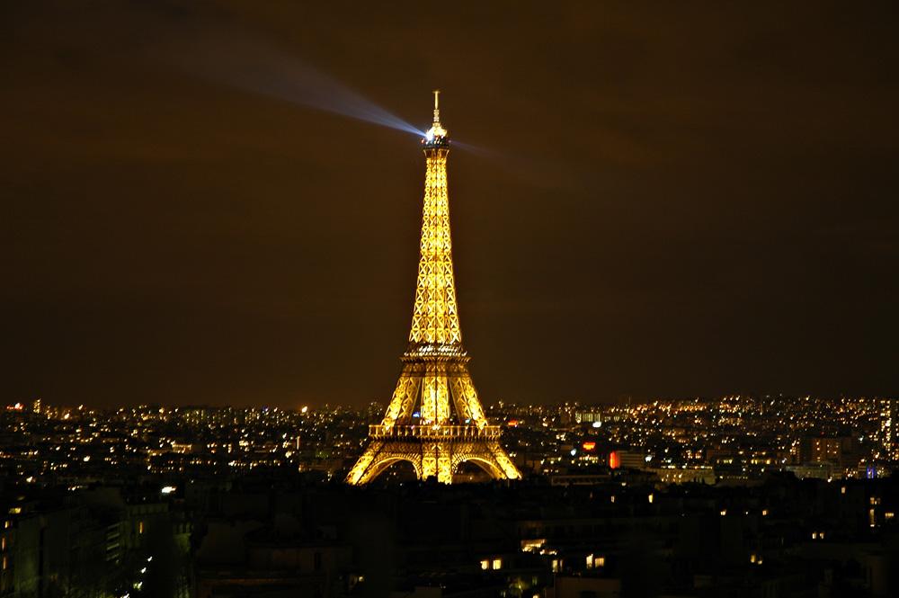 Eiffel tower lighthouse
