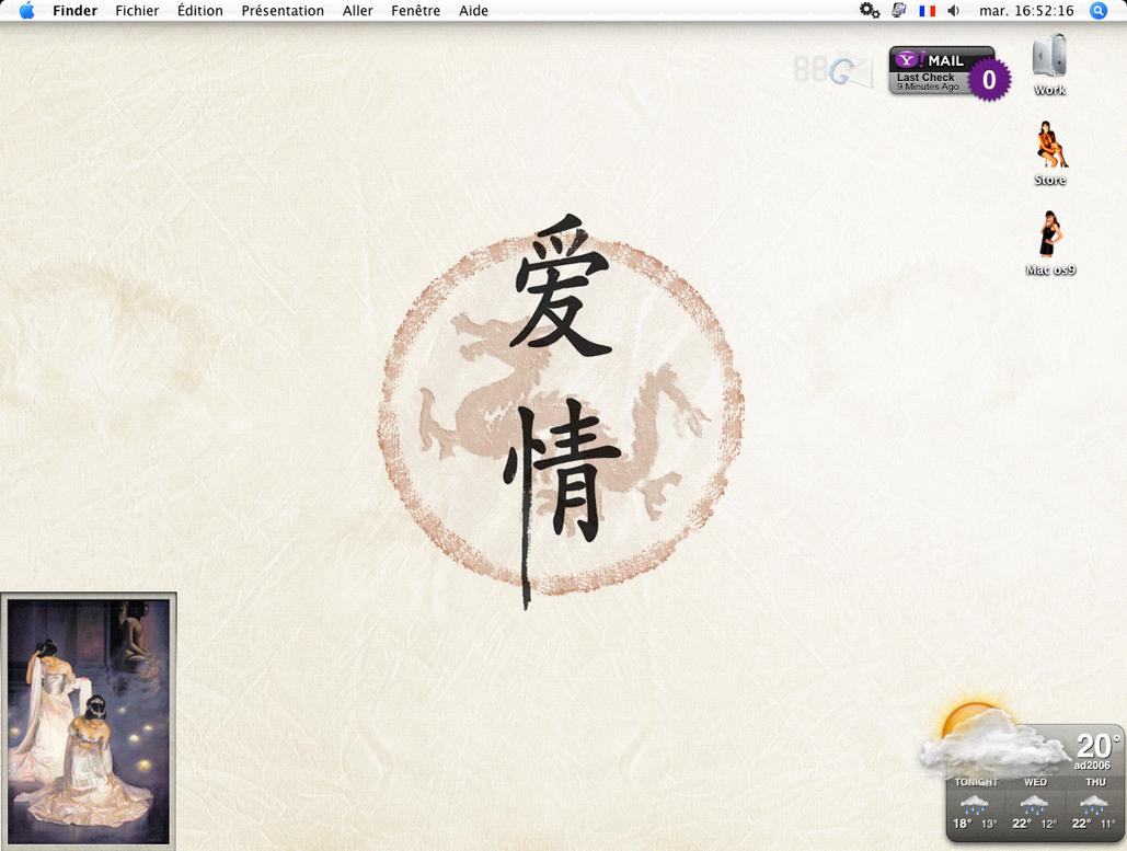 Desktop mac by Anantaphoto