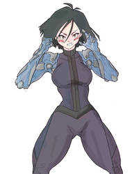 Alita Battle Angel by MCQ07Gn