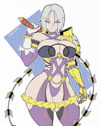 Ivy Valentine Sketch by MCQ07Gn