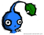 Pikmin - blue