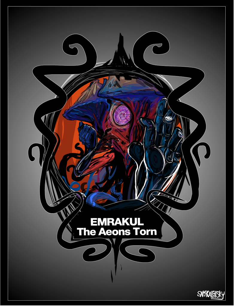 Emrakul the aeons torn alternate art