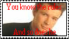 Stamp-Rick Astley by SydneyPrimal