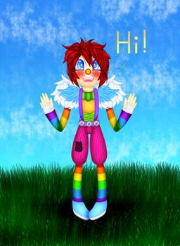 Rainbow Laughing Jack!! (SOO CUTE!!! O3O U3U)