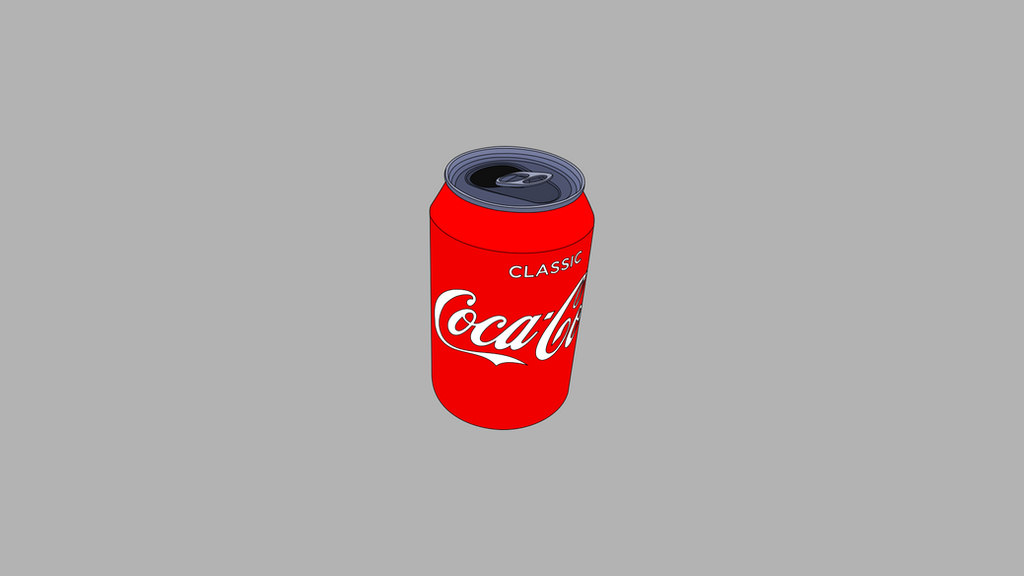 Coke Can Outline Wallpaper 1920x1080 By HenryMeredith