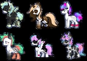 Pony adopts  [CLOSED] by Alaska-Adopts07