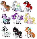 Pony adopts  [OPEN 1/9]  #5 (REDUCED PRICE) by Alaska-Adopts07