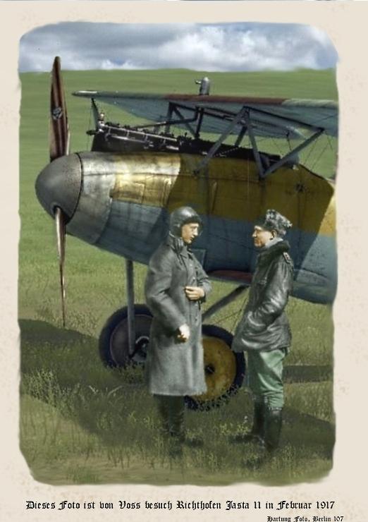 Voss and Richthofen Postcard by zulumike