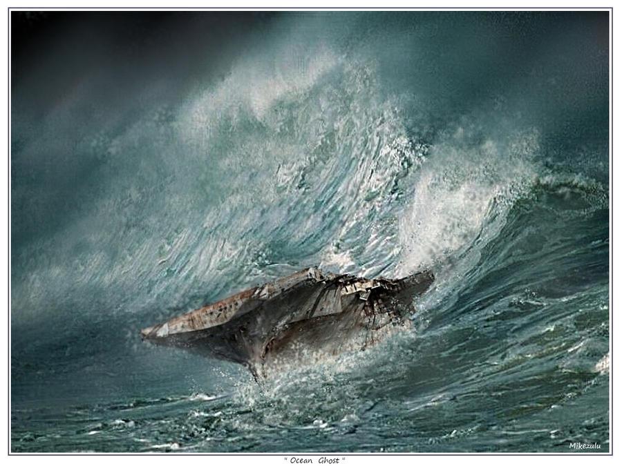 Ocean Ghost by zulumike