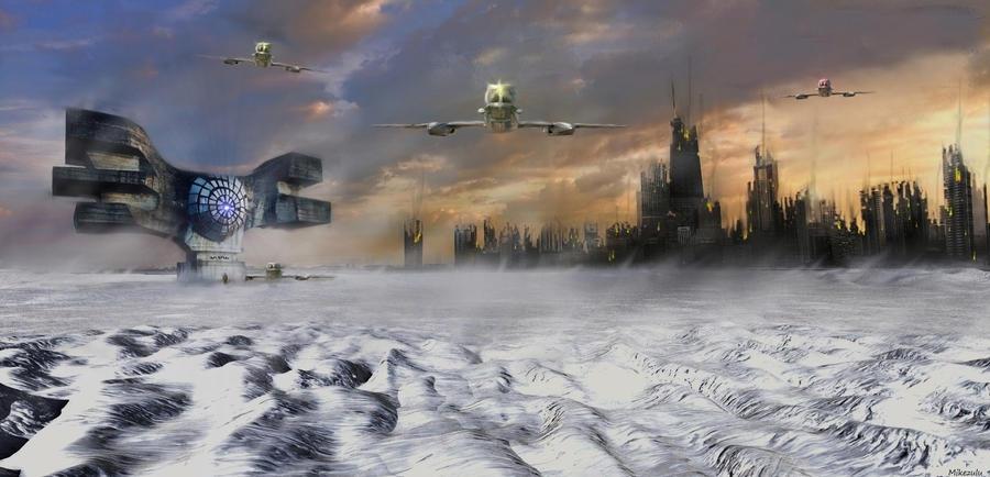 Frozen City by zulumike