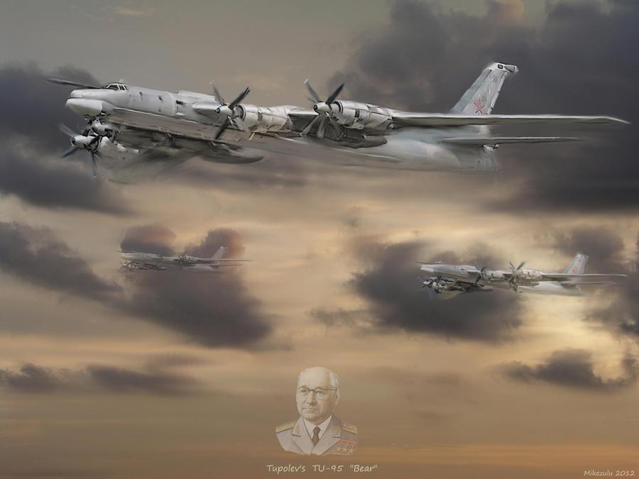 Tupolev's  Bear by zulumike