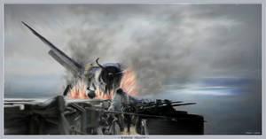 Burning Hellcat