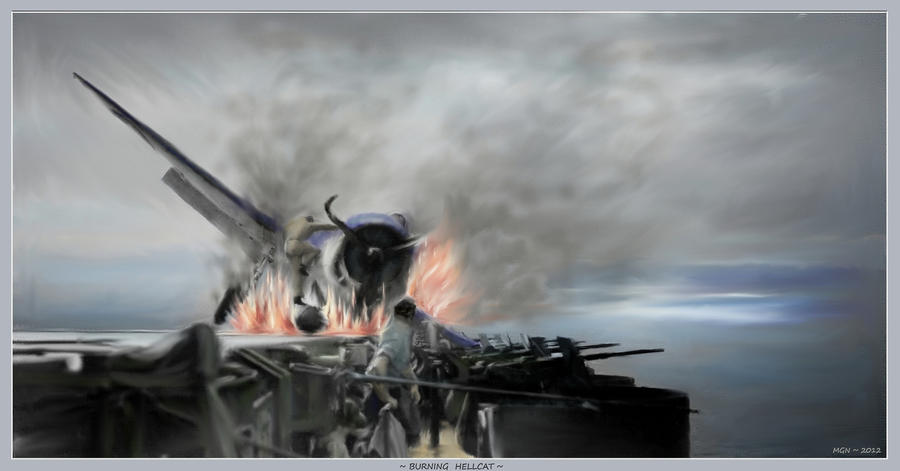 Burning Hellcat by zulumike