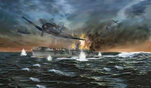 Final Battle at Midway by zulumike