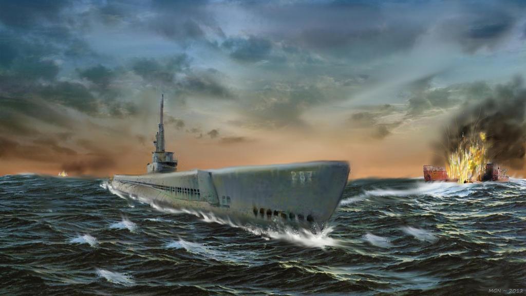 USS Bowfin by zulumike