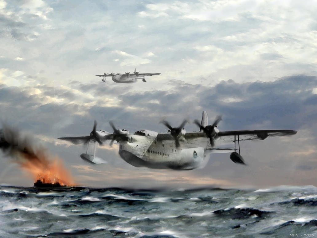 Rescue in the Atlantic by zulumike