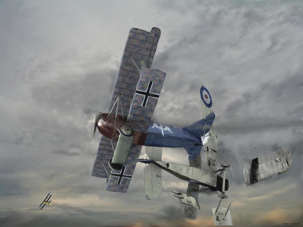 Berthold's Final Air Battle by zulumike