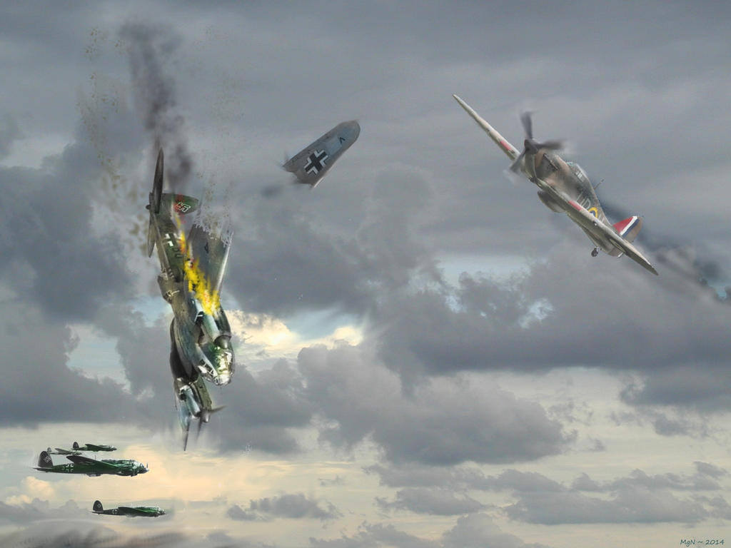 Defending England ~ 1940 by zulumike