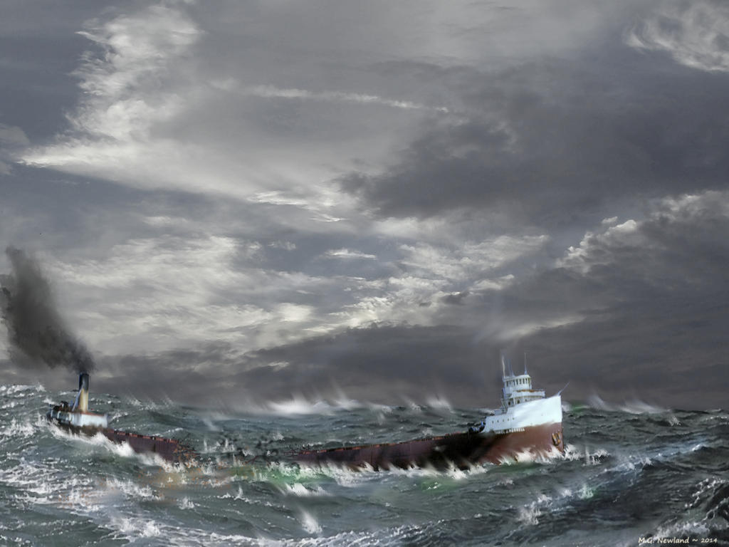 The Loss of the SS Morrell by zulumike
