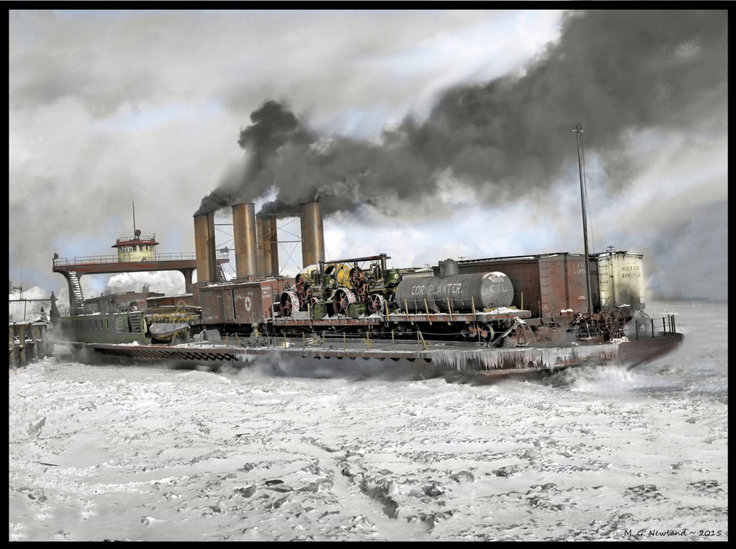 Winter Power on the Detroit by zulumike